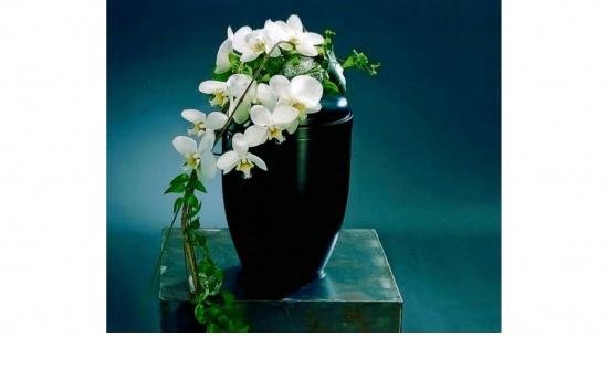 Urnengesteck Orchidee